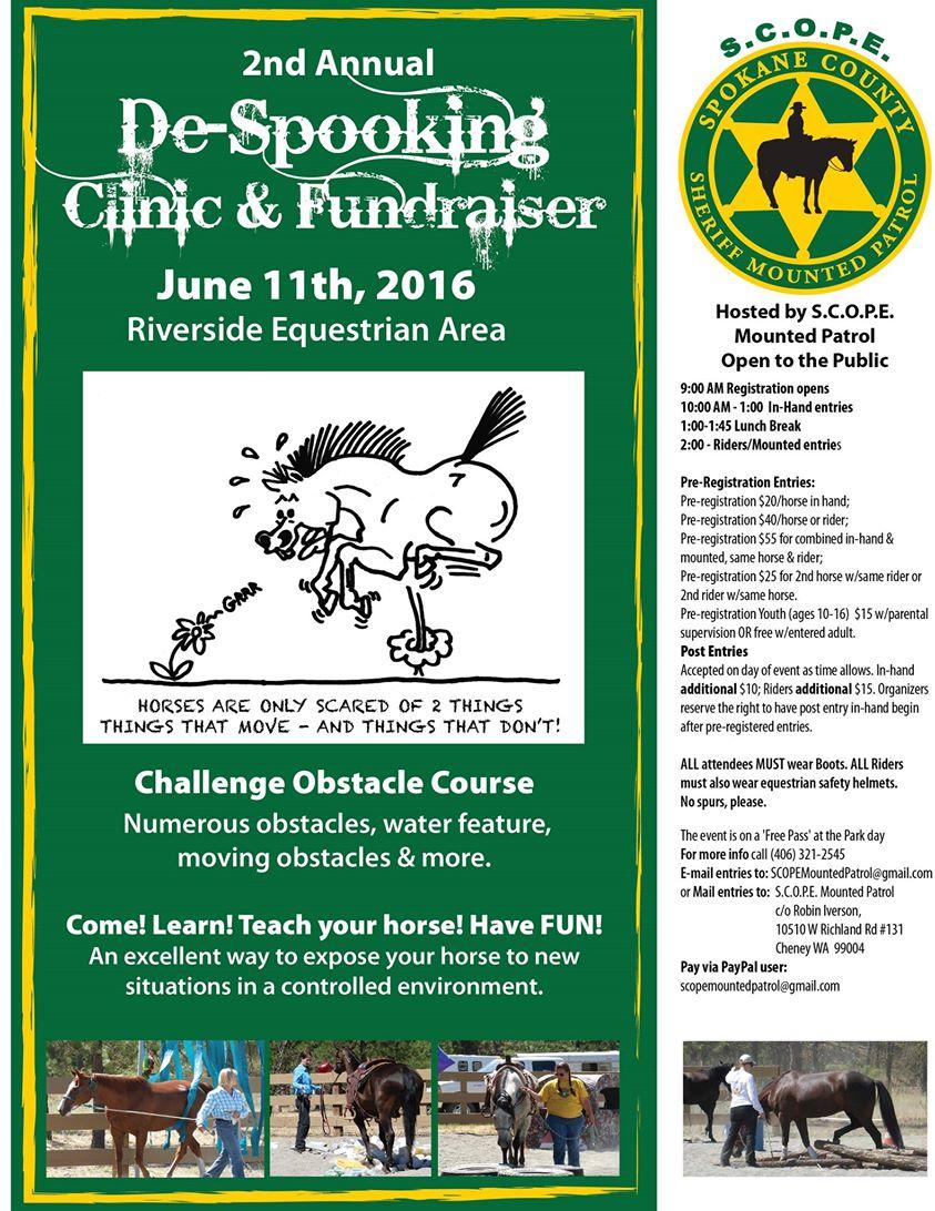 S.C.O.R.E. Clinic Flyer
