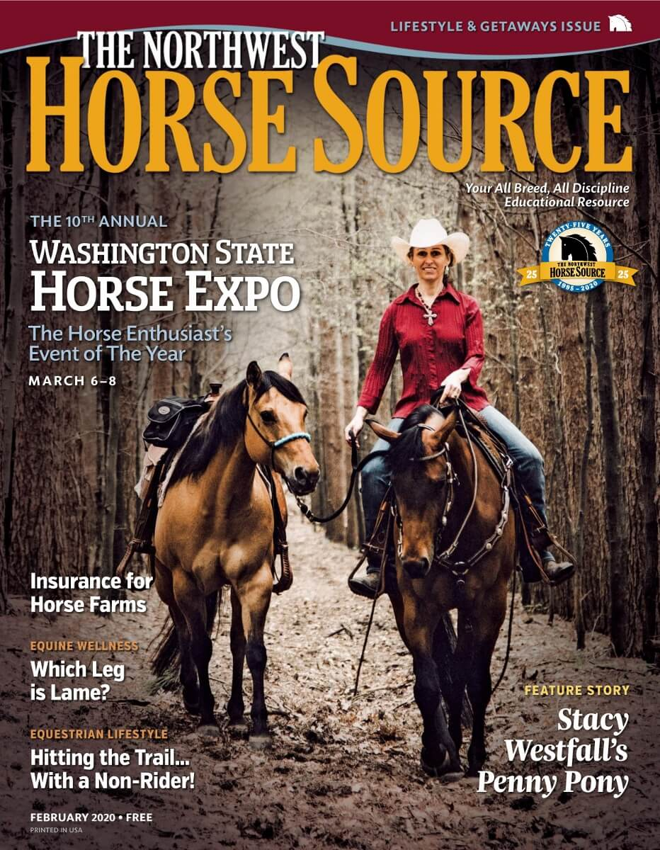 February 2020 Cover Story: The 10th Annual Washington State Horse Expo